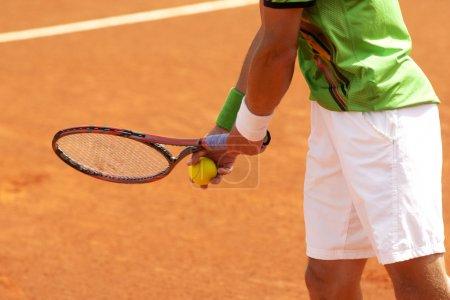 Serve tennis