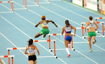 Competitors of 400m hurdles