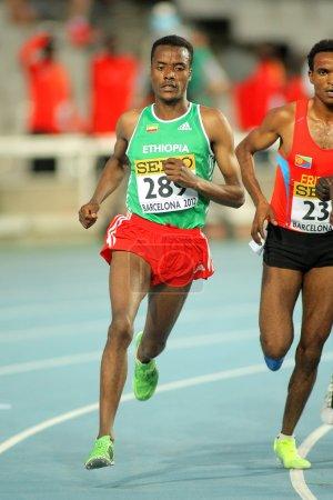 Muktar Edris of Ethiopia