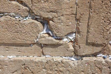 Prayers in the Western Wall Jerusalem