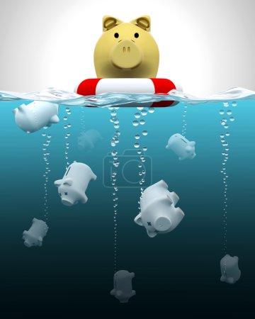 Keeping savings insured