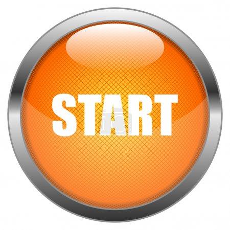 Vector Button Start