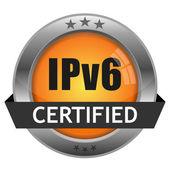 Vektorové tlačítko ipv6