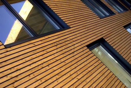 façade en bois