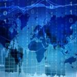 Stock market world map...