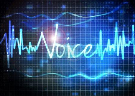 Photo pour Reconnaissance vocale - image libre de droit