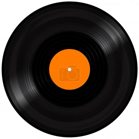 Vinyl Record. Realistic Vector Illustration...