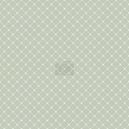 Illustration pour Fond vectoriel simple sans couture avec carrés arrondis - image libre de droit
