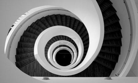Spiral stairs detail