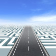 Leadership and business vision with strategy in co...