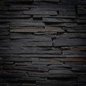 Břidlicové kamenná zeď