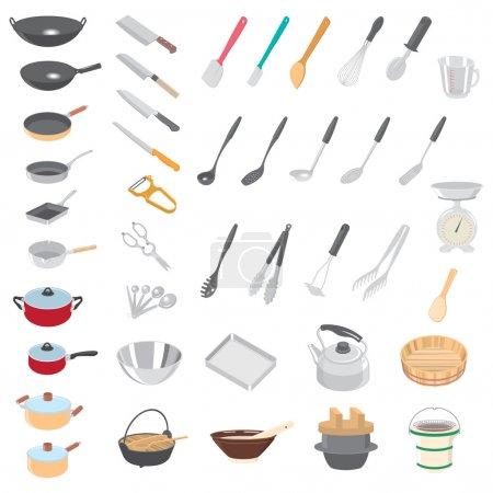Icon of kitchenware...