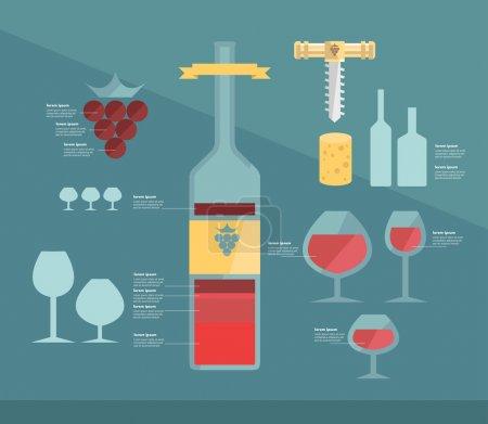 Wine infographic.