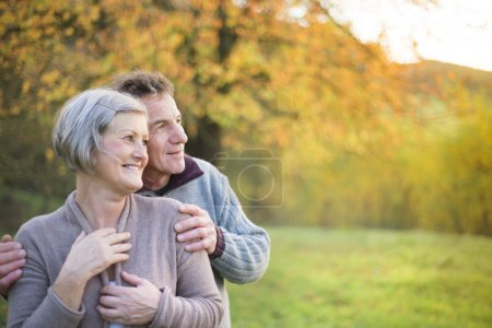 Photo for Close up of active seniors relaxing in nature - Royalty Free Image