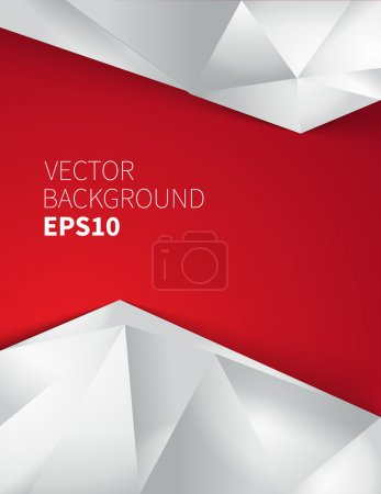 Photo for Modern abstract background illustration with vector design elements - Royalty Free Image