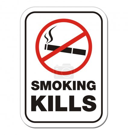 Fumer tue signe