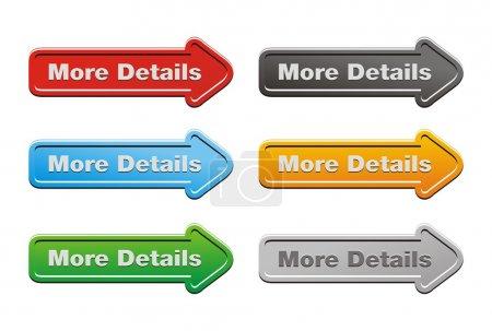 More details button sets - arrow buttons