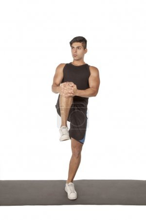 Fitness stretching exercises (series)
