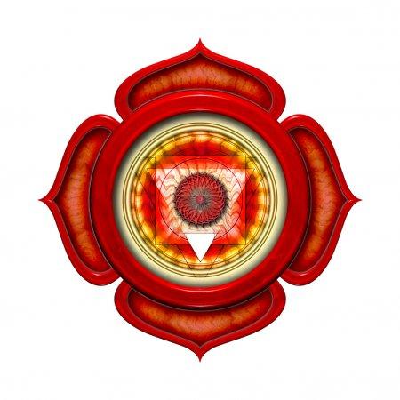 Base Chakra Mandala