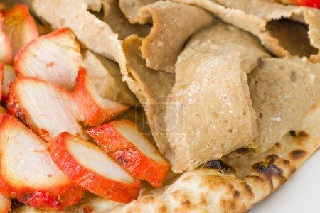 Chicken Tikka & Donner Meat