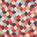 Seamless vector mosaic geometric pattern backgroun...