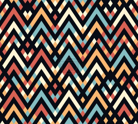 Geometric rhombus color pattern background
