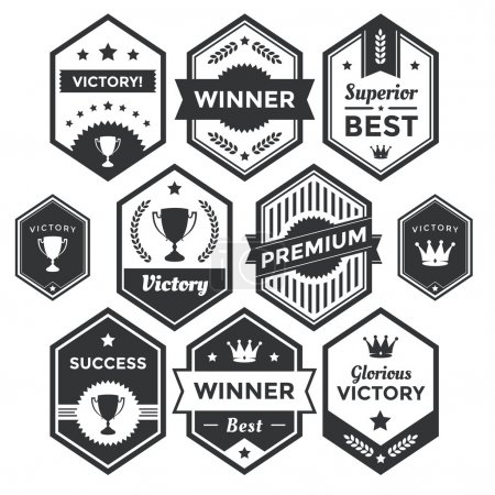 Premium Vector Badge and Modern Label Collection