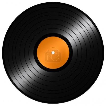 Photo pour Disque vinyle - image libre de droit