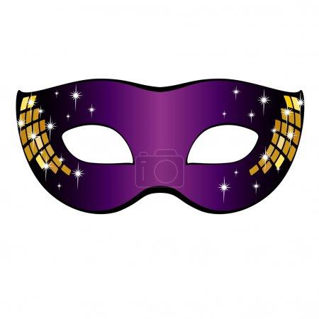 Carnival Mask. Vector illustration.
