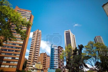 Photo pour District financier, Centre-ville, Bogota, Colombie, Amérique du Sud - image libre de droit