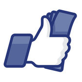 Thumbs Up icon with daily activity vector Eps 8 image