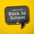 Back to school, vector Eps10 image...