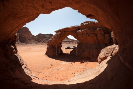 Stone arch in the desert