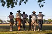 Gauchos en Fiesta de la Tradicion in San Antonio de Areco