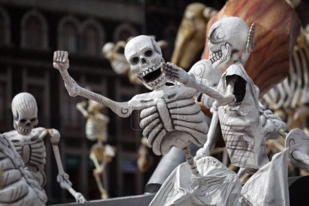 Skeletons is obligatory attribute of Traditional D...
