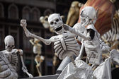 Skeletons is obligatory attribute of Traditional Day of the Dead