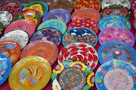 Multi-colored souvenirs, Mexico