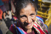 CHICHICASTENANGO, GUATEMALA - MARCH 24: The unknown woman on the