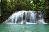 Waterfall in Erawan national park, level 2, Kanchanaburi