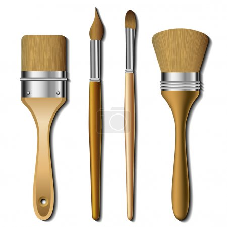 Painting brush set
