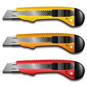 Cutter knife set