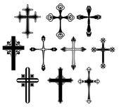 Cross symbol set