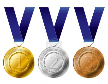 Medal award set