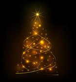 Abstraktní světla vánoční strom