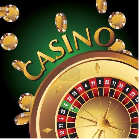 Elements casino, gold roulette