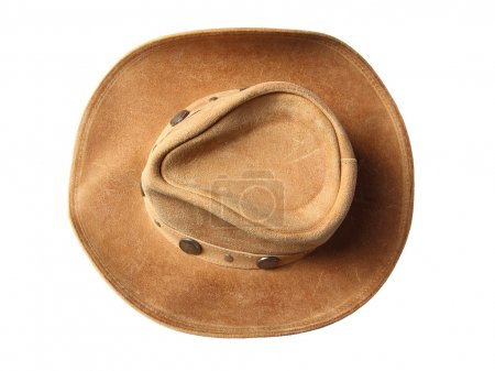 Cowboy hat top view