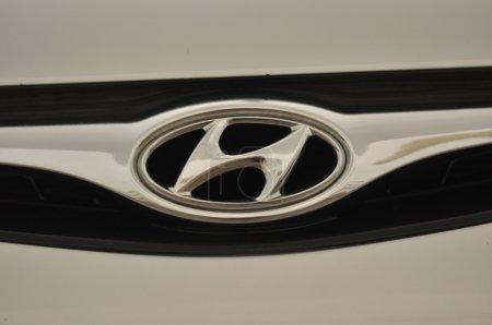 Logo di auto marca hyundai