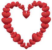 Rámec v podobě srdce