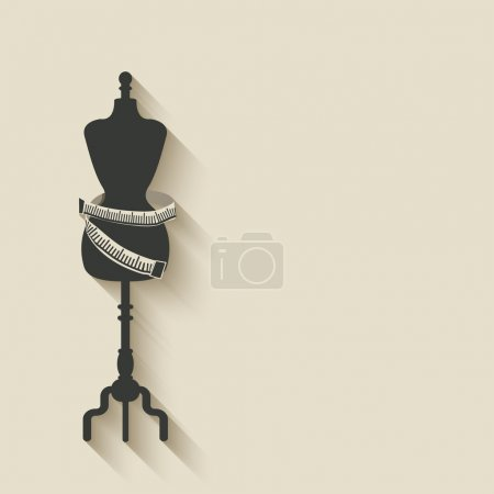 sewing mannequin background