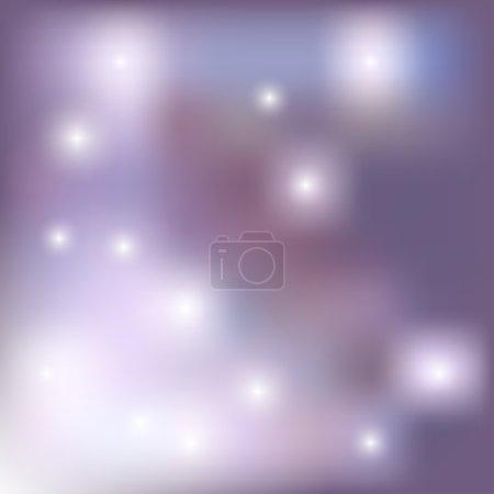 Illustration for Colorful blurred background  - vector illustration. eps 10 - Royalty Free Image